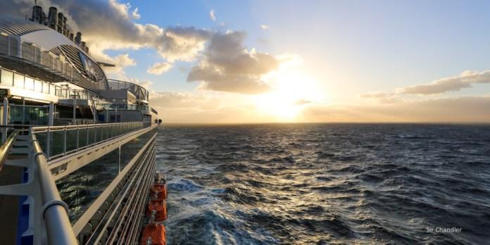 Rumbo al Mar Báltico para subir a un crucero de Princess