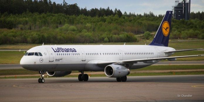 Volando de Estocolmo a Frankfurt con Lufthansa