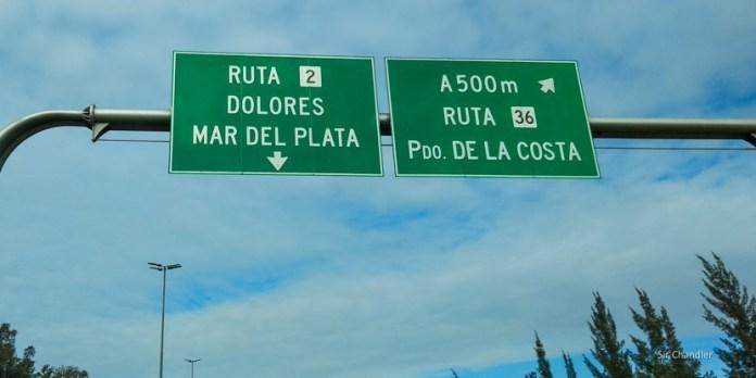 Crónica del viaje a Mar del Plata en auto – time lapse