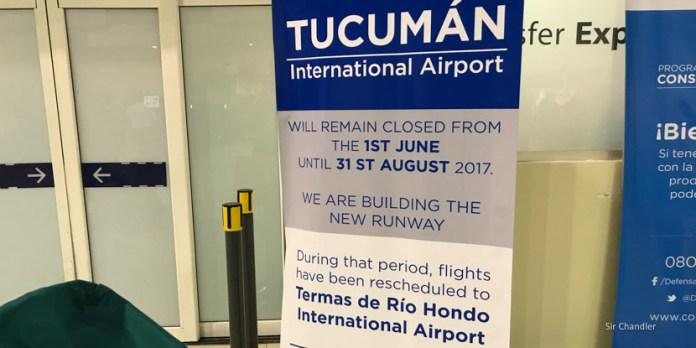 Los tucumanos arrancaron los tres meses sin aeropuerto