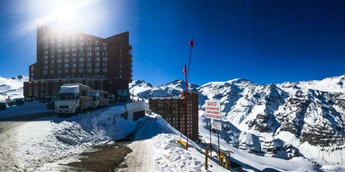El hotel de Valle Nevado