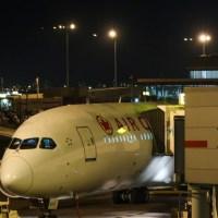 Volviendo de Toronto con Air Canada en la business de un Boeing 787