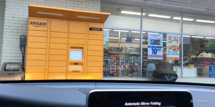 Pinchando la magia de los Amazon Locker en Miami