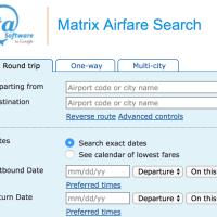 La aplicación de vuelos On the fly (ITA Matrix) dejará de funcionar a fin de año