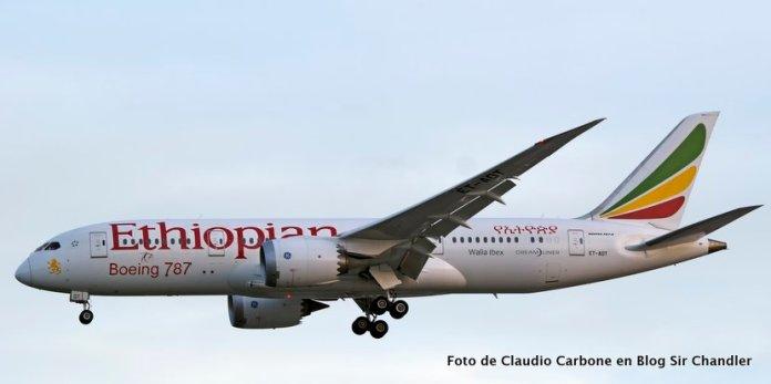 Ethiopian habló de vuelos directos