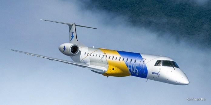 LASA espera sus dos primeros Embraer 145 para mediados de marzo