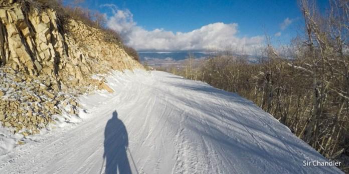 Esquiando en Aspen