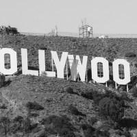 Buscar el lugar para la foto con el cartel de Hollywood