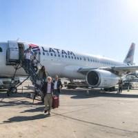 Vuelo a Santiago de Chile en premium economy de Latam Argentina