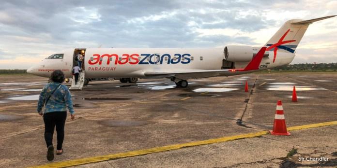 Vuelo desde Asunción con Amaszonas Paraguay