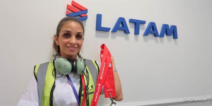 Elda Morera – mecánica de Airbus 320 y Boeing 767