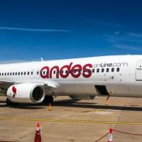 Andes prueba nuevas rutas y sumará más Boeing 737 en 2019