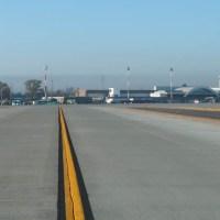 El aeropuerto de Rosario con su plataforma nueva - recorrida