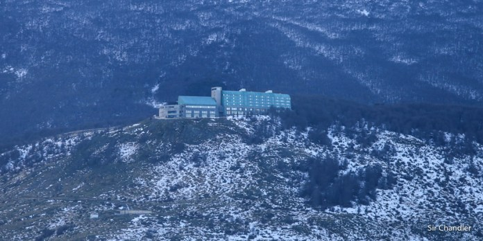 El hotel Arakur de Ushuaia