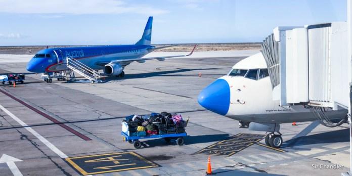 Viaje a Madryn por tres días – vuelo a Trelew de Aerolíneas Argentinas