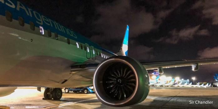 Crónica de vuelo desde Ushuaia y desde Rosario (con Aerolíneas)