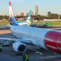 Los primeros cuatro vuelos de Norwegian Argentina - crónicas