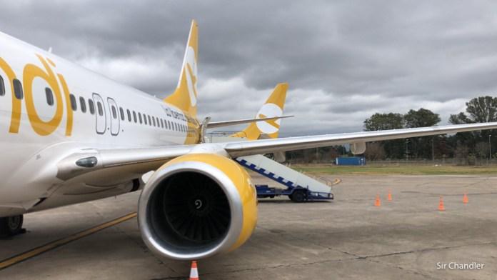 Informe de puntualidad en cabotaje que incluye a Flybondi y Avianca