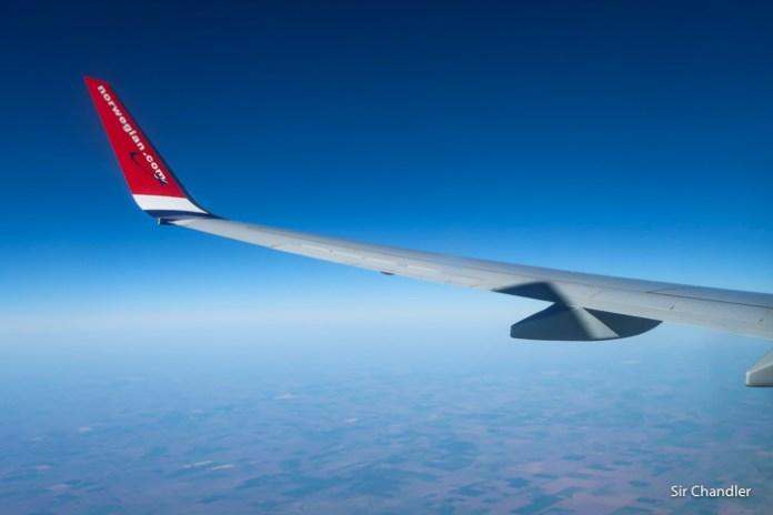 Norwegian arrancó con los vuelos a Neuquén y Puerto Iguazú