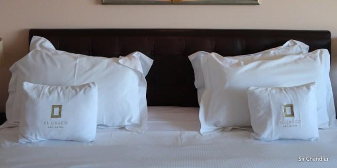 El hotel El casco de Bariloche