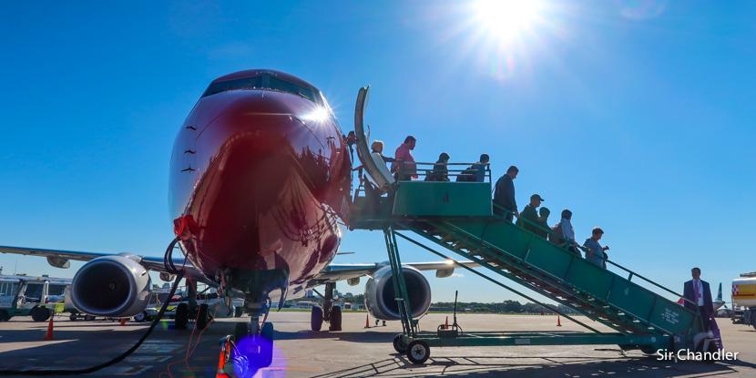 En camino el segundo Boeing 737 de Norwegian Argentina