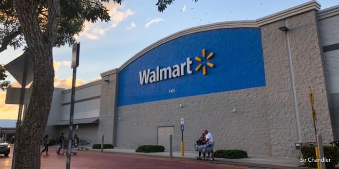 La puntera argenta de los Walmart de Miami