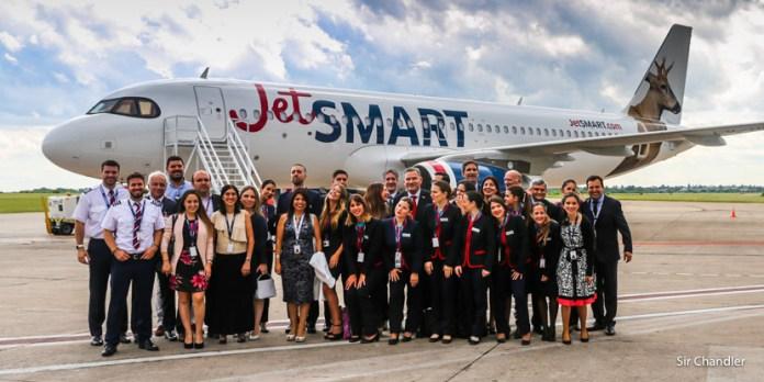 Jetsmart Argentina presentación del primer avión – espera despegar en abril