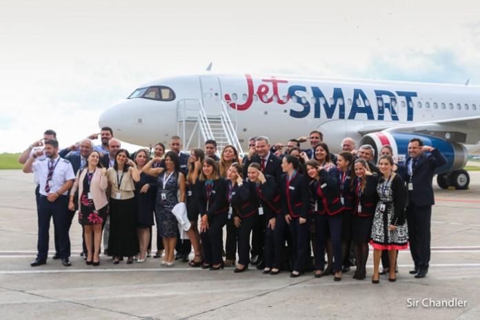 Con 12 rutas anunciadas Jetsmart arrancará progresivamente desde Abril