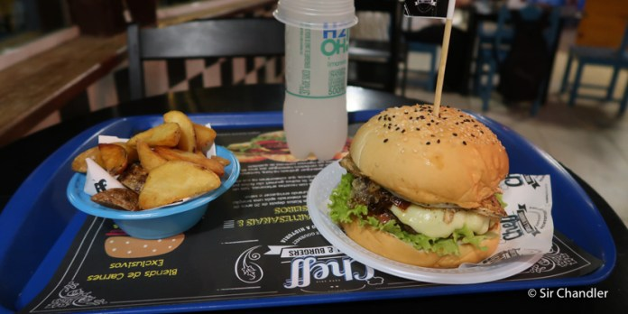 Cheff, una hamburguesa argentina en Buzios