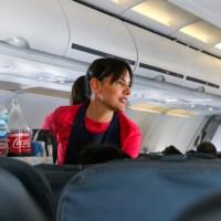 Entrevista en vuelo a una jefa de cabina de Latam