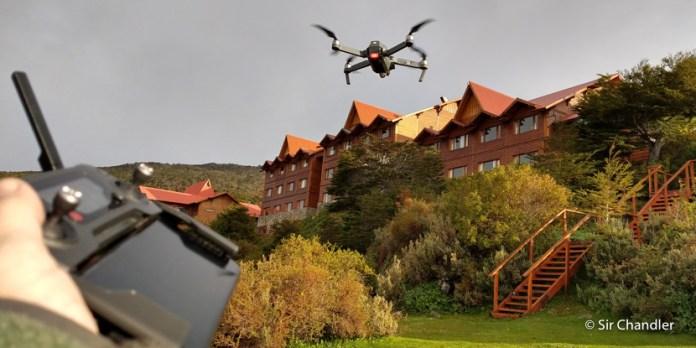 Vuelo del dron en zona con restricciones por aeropuerto cercano