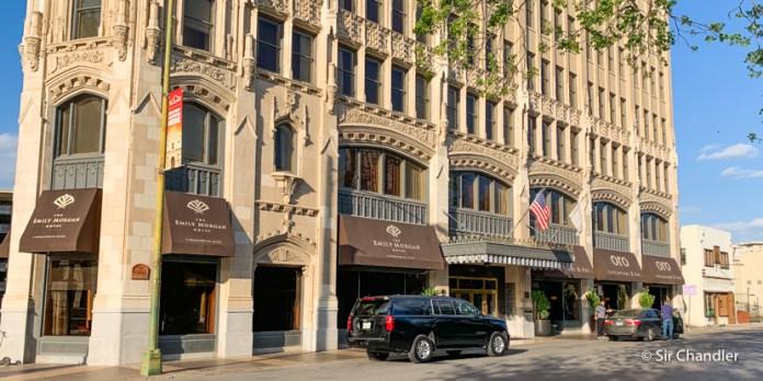 El hotel Emily Morgan, un DoubleTree by Hilton en edificio de casi 100 años en San Antonio