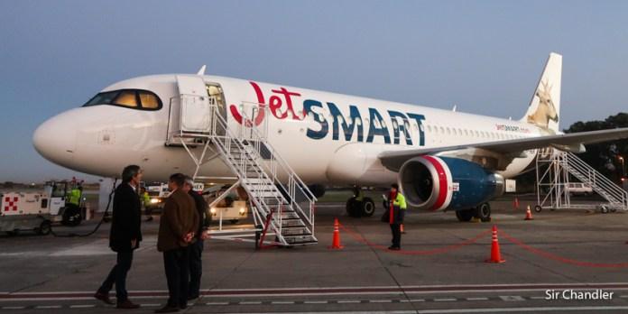 Primer vuelo de Jetsmart a Bariloche – cobertura de todo