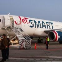 Primer vuelo de Jetsmart a Bariloche - cobertura de todo