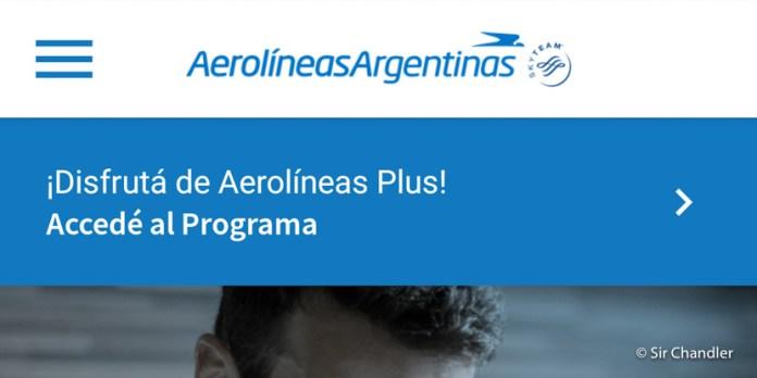 Aerolíneas Argentinas largó la nueva aplicación móvil