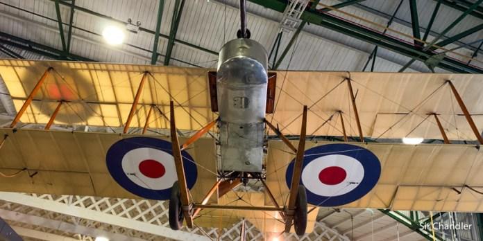 El museo de aviones militares de la RAF en Londres