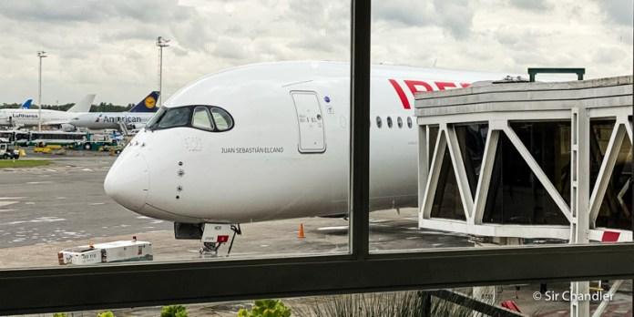 Iberia: vuelo a Madrid con el Airbus 350