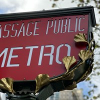 Una advertencia sobre el metro de París