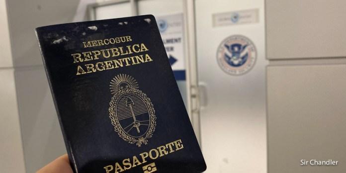 Global Entry: actualización de visa