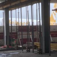 El Palomar: recorrida por las obras de la nueva terminal