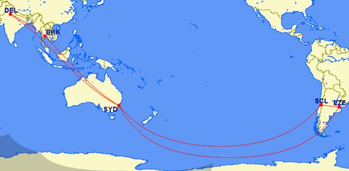 Un vuelo de 53 horas para buscar a los varados en la India y Tailandia