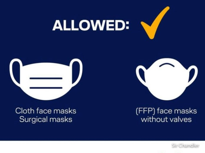 Lufthansa: si a los tapabocas de tela, no a las máscaras