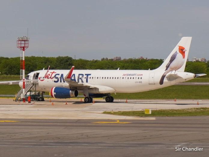 Jetsmart operará sus vuelos nacionales desde el 16 de marzo en Aeroparque
