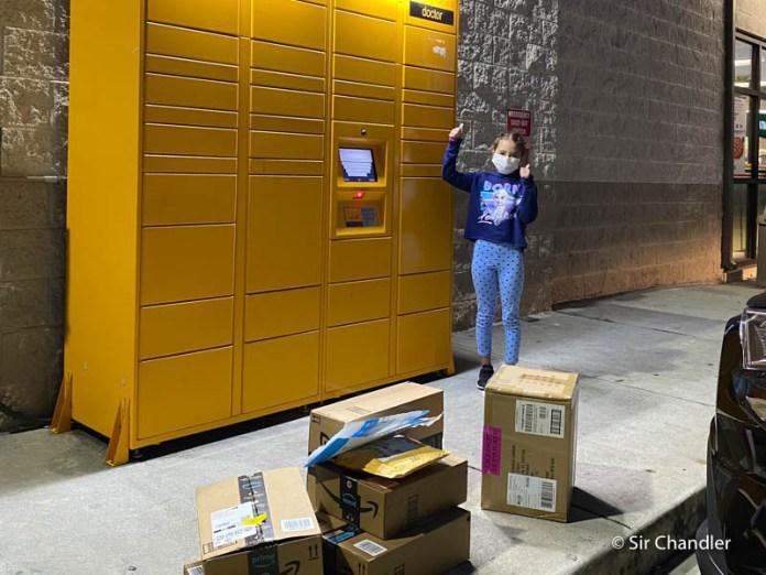 Las compras recibidas en un locker de Amazon que disparan las dudas sobre la aduana
