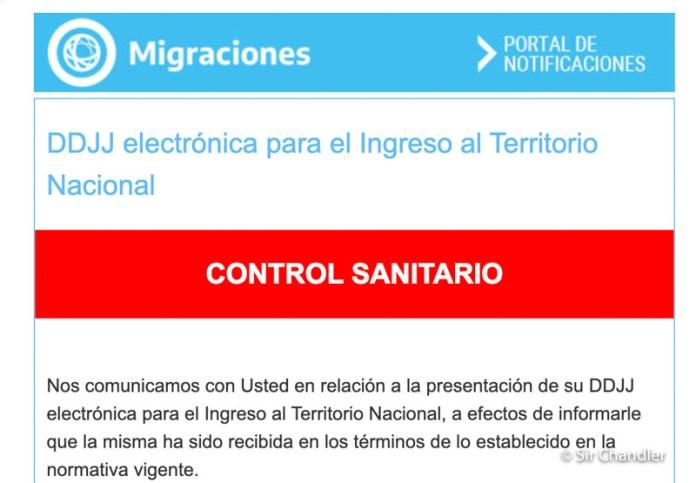 Declaración jurada de regreso a la Argentina: algunos cambios en el formulario