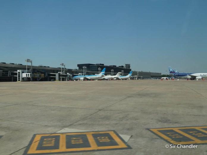 Aeroparque vs Ezeiza: se van balanceando los vuelos