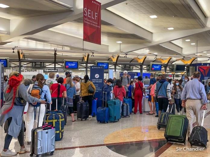 Volando a New York desde Atlanta con Delta: crónica