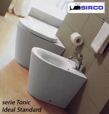 sedile TONIC bianco ORIGINALE VARIANTI Ideal Standard TONIC Sirco sas Arredo Bagno Biella Piemonte