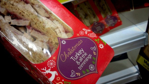 Christmas sandwiches | Photo: Jonathan Cresswell