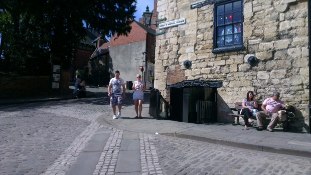 The BookStop Cafe on Steep Hill in Lincoln | Photo: Charlotte Reid